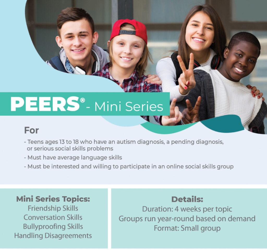 teen social skills group psychology services in Burlington Ontario